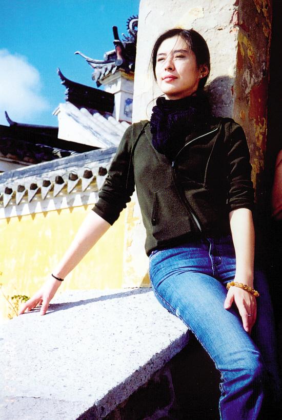 记者手记:与王祖贤的普陀山之行 世博频道