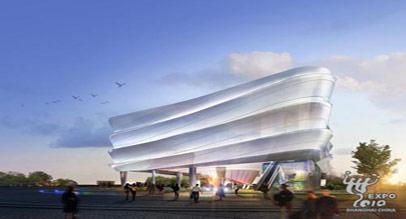 上海世博会韩国企业联合馆图片