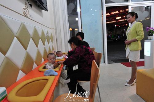 宝宝餐厅_餐厅装修效果图_餐厅酒柜